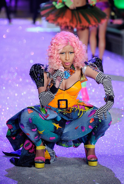 nicki minaj 78  Hot Shots: Nicki Minaj Struts Her Stuff For Victorias Secret