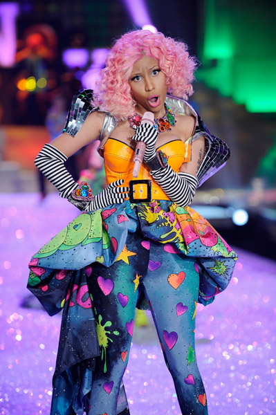 nicki minaj 89 Hot Shots: Nicki Minaj Struts Her Stuff For Victorias Secret