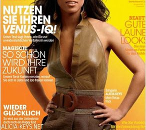 Alicia Keys Covers German Cosmopolitan