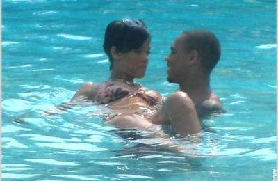 Rihanna & Chris Brown Spotted In Jamaica