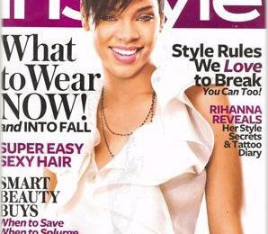 Rihanna Covers InStyle Magazine