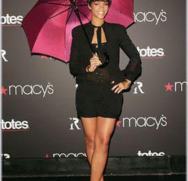 Rihanna Launches Umbrella Range At Macy's
