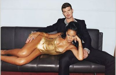 Rihanna & Robin Thicke Feature In GQ