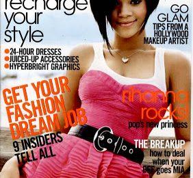 Rihanna Covers Teen Vogue
