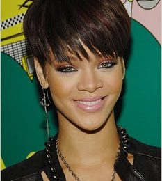 Rihanna At TRL & Album Release Party