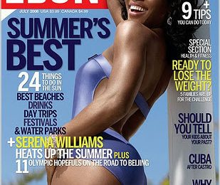 Serena Wlliams Covers Ebony