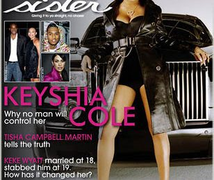 Keyshia Cole Covers Sister 2 Sister Magazine