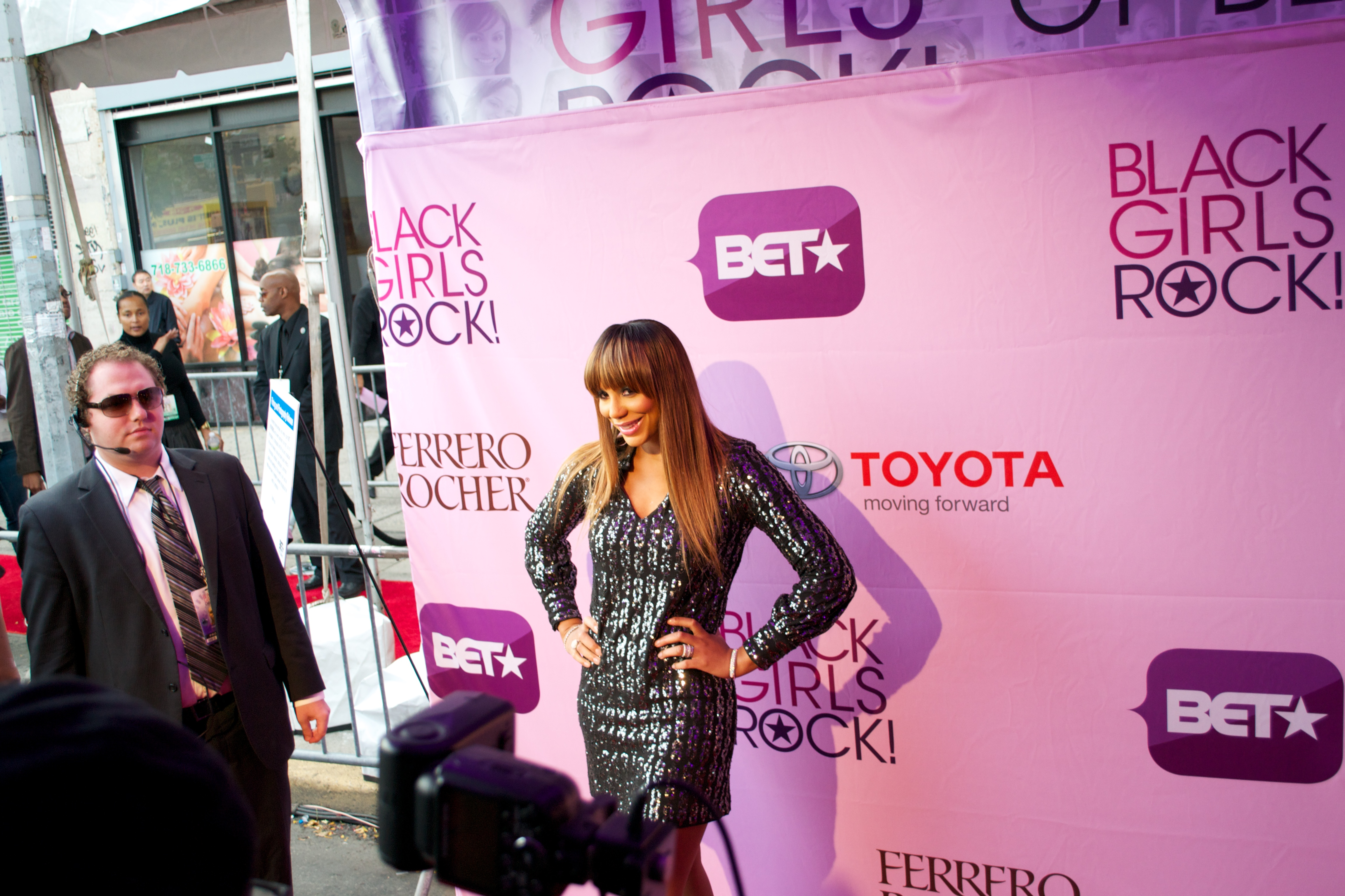 tamar 2 Hot Shots: That Grape Juice At BET Black Girls Rock 2011!