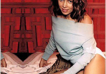Tamia Performs On The Orange Lounge