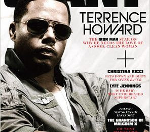Terrence Howard Covers GIANT Magazine