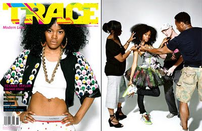 Teyana Taylor Covers Trace Magazine