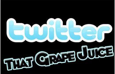 Follow That Grape Juice On Twitter