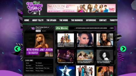 Announcement: That Grape Juice TV 2.0 Launches!