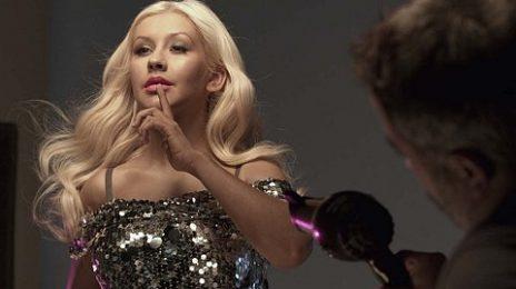 Watch:  Christina Aguilera 'Secret Potion' Behind The Scenes