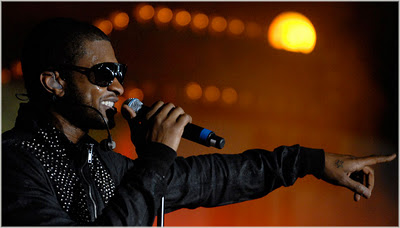 Usher Performs At BBC Radio 1's 'Big Weekend'