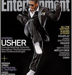 Usher Covers Entertainment Weekly