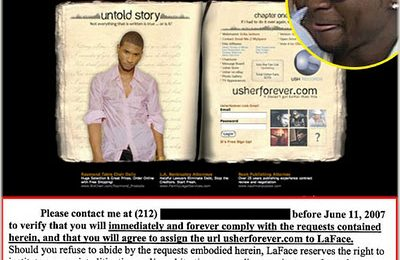 Usher Messes With The Wrong Fan
