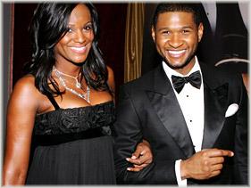 Usher Gets Engaged
