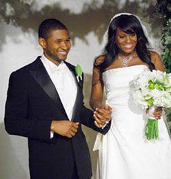 Usher & Tameka Wedding Pics