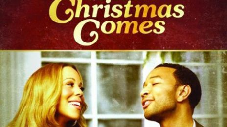 Hot Shot:  Mariah Carey & John Legend's 'Christmas' Artwork