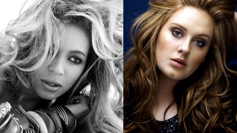 Adele, Rihanna & Beyonce Dominate WorldWide Year End Chart