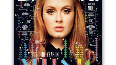 Hot Shot:  Adele Beams On Billboard Magazine