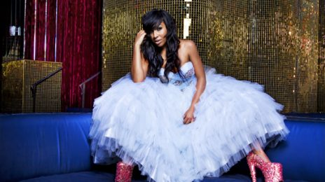 Hot Shots:  Melanie Fiona's Fierce For YRB Magazine