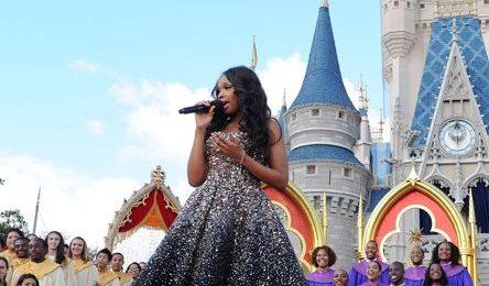 Watch:  Jennifer Hudson Dazzles at Disney's Magic Kingdom