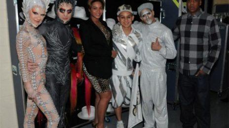 Hot Shot: Beyonce & Jay Z Enjoy 'The Immortal'