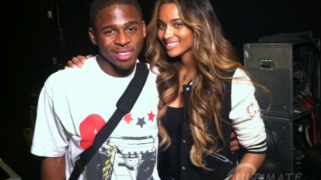 Hot Shot: Ciara Meets X Factor's Marcus