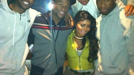 Hot Shot: Lil Kim Hits Studio With 50 Cent