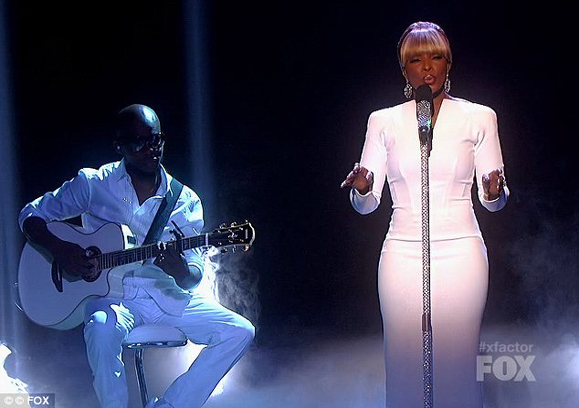 MARY J X FACTOR USA SERIES 1 Watch: Mary J. Blige Performs Need Someone On  X Factor USA