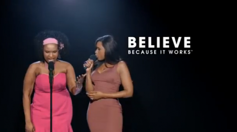 Jennifer Hudson Duets With Self in New Weight Watchers Ad