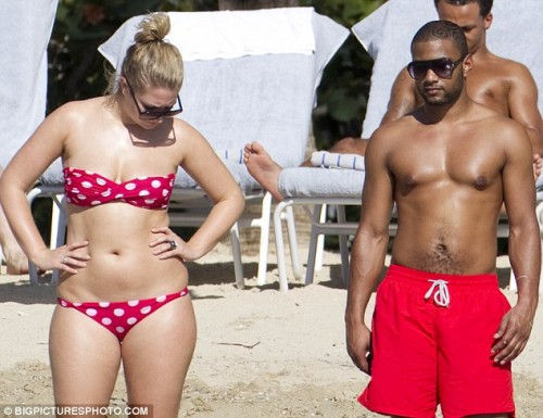 jls jb 123 e1324382027685 Hot Shots: JLS Star Frolics With Girlfriend Antigua