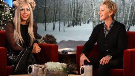 Lady GaGa Visits 'Ellen' (Performance & Interview)