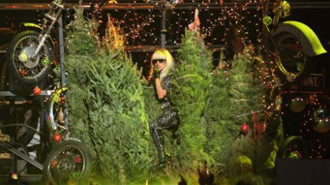 Watch: Lady GaGa Gets Festive With Jingle Ball Performance