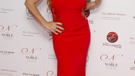 Hot Shots: Mariah Carey Flaunts Red-Hot Figure In London