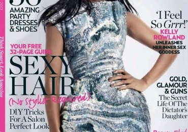 Hot Shots: Kelly Rowland Lets Down Her Hair For Marie Claire