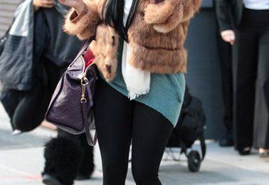 Hot Shots: Nicki Minaj Does Fur Fierce In NYC