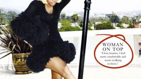 Hot Shots:  Nicki Minaj Guests Glamour UK Magazine, Readies Fashion Line