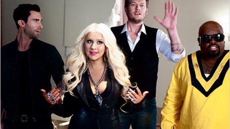 Hot Shot: Christina Aguilera Takes Centre-Stage In New 'The Voice' Promo