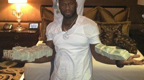 Hot Shots: 50 Cent Flaunts Stacks Of Cash In Vegas