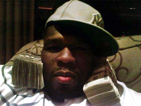 50 cent money Hot Shots: 50 Cents Flaunts $500k On Twitter