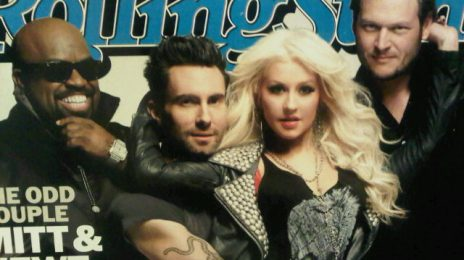 Hot Shot:  Christina & Co. Cover Rolling Stone (LQ)