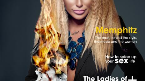 Hot Shot: Aubrey O'Day Covers 'Kontrol Magazine'