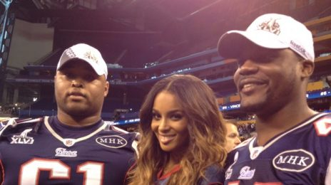Hot Shots: Ciara Touches Down In Indianapolis