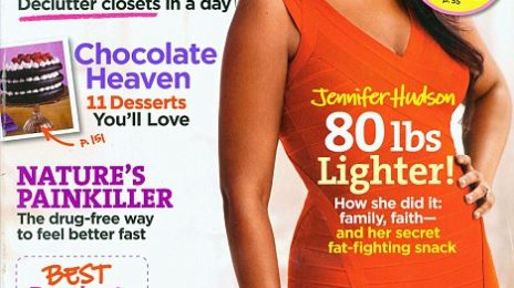 Hot Shot:  Jennifer Hudson Graces 'Good Housekeeping'