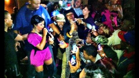 Hot Shots: Lil Kim & Trina Party In Tampa