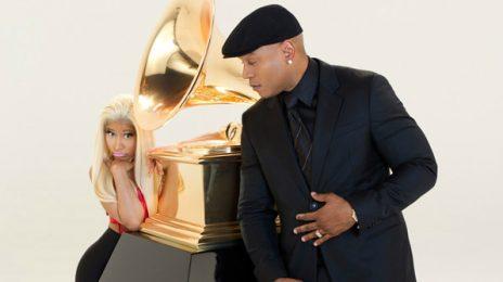 Hot Shot: Nicki Minaj Joins LL Cool J For Grammy Promo
