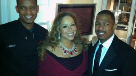 Hot Shot: Mariah Carey Attends Spike Lee Fundraiser